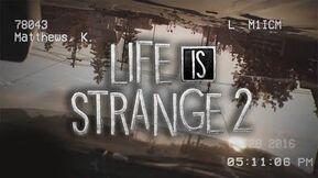 Life Is Strange 2 - Teaser Trailer