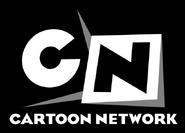 Cartoon Network 2004 White text in Black background
