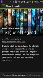 League of legends wikia
