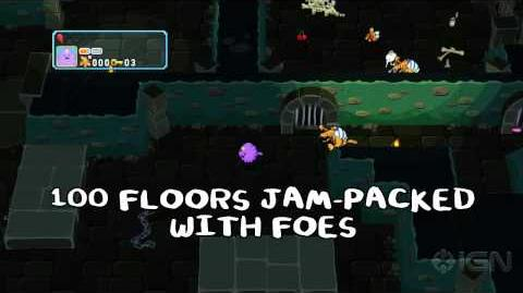Adventure Time Explore the Dungeon Because I Don't Know! Wii U Trailer