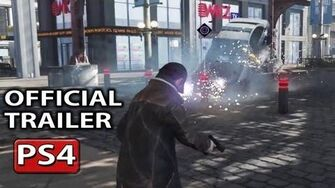 Watch Dogs Official PS4 Gameplay Trailer