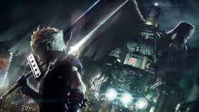 Final Fantasy slider