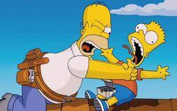 Homer and Bart for blog Diversity