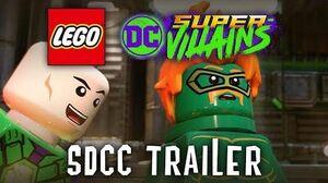 LEGO DC Super-Villains Official San Diego Comic Con Trailer