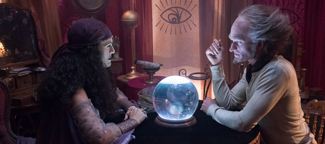 Madame Lulu and Count Olaf - для заглавной