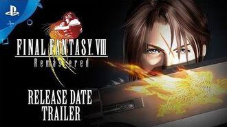 Final Fantasy VIII Remastered - Trailer PS4