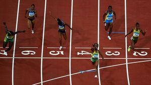 Olympics sprinters