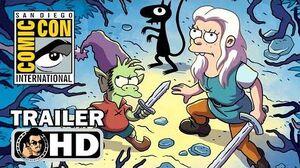 DISENCHANTMENT Comic Con Trailer (SDCC 2018) Netflix The Simpsons Series