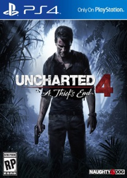 Uncharted 4 A Thief's End cover