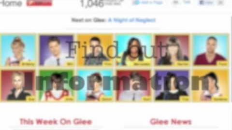 Explore the Glee Wiki (START HERE)