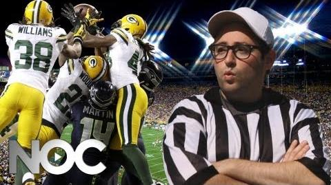 """NFL Replacement Refs Music Parody - Flo Rida """"Whistle"""" - The NOC"""