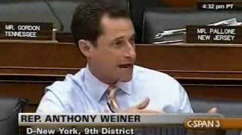 Weiner Challenges the Republicans to Put-Up or Shut-Up on Healthcare