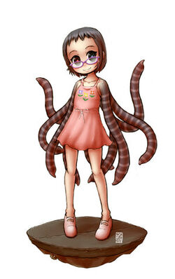 Tentacle Girl by sachsen