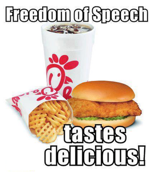 Chick-fil-A Freedom of Speech