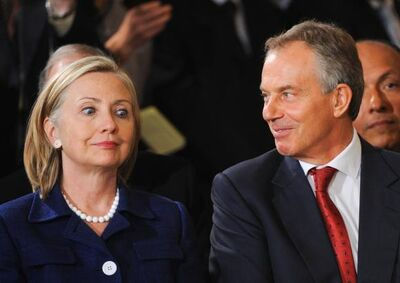 Hillary and Tony Blair