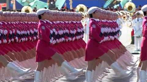 China 60th Anniversary Parade - Women's Army HD (subbed)