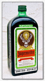 Is there deer blood in jager