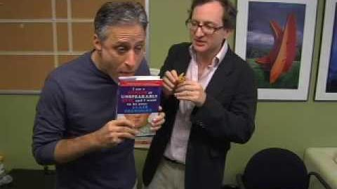 Josh Lieb author video, featuring Jon Stewart