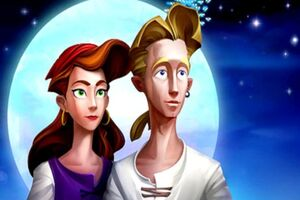 Guybrush and Elaine