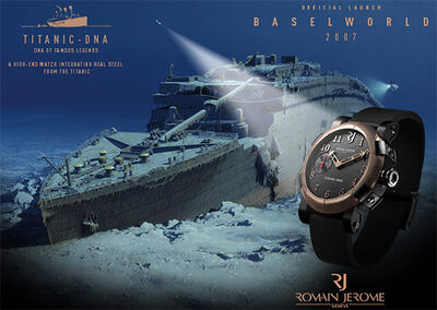 Romain jerome titanic watch