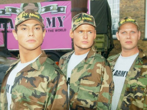 no gays in the army