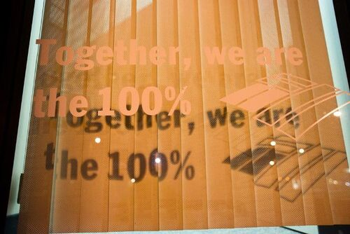 We are 100%