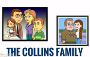 The Collins Family title card