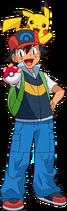 Ash Pikachu DP
