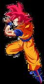 Goku ssj god kamehameha nueva edicion by saodvd-d7b0dpo