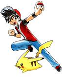 Red y Pikachu (manga)