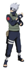 Kakashi Hatake (Renderização)