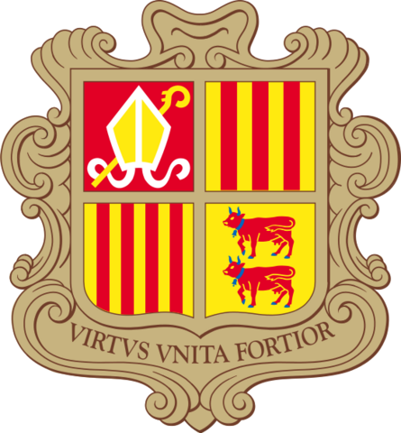 File:Coat of arms of Andorra.png