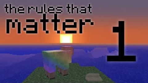 The Rules That Matter (Season 1) 'Day 1' - A Hardcore Minecraft Survival Challenge