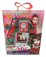 Jade On the Mic Doll and Mic box