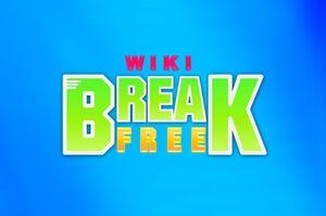 Break Free (Logo) Blue Background