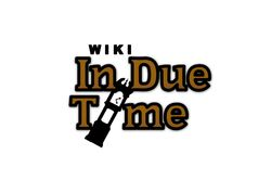 In Due Time Logo (White Background)
