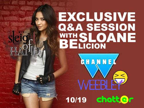 Sloane Weebley Q&A