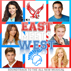 East Meets West Soundtrack Cover