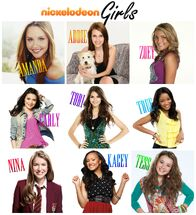 Nickelodeon Girls Collage Names