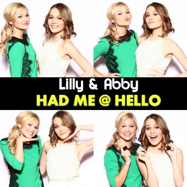 Had Me @ Hello by Lilly and Abby