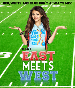 East Meets West poster with Rachel