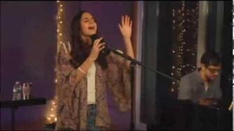 """Carly Rose Sonenclar sings """"Fighters"""" LIVE on StageIt"""