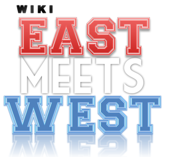 East Meets West logo