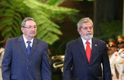 800px-Lula and Raul Castro