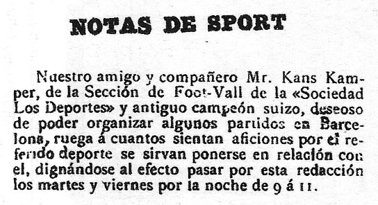 Futbol club barcelona - notas de sport