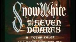Snow White and the Seven Dwarfs (Original Theatrical Trailer 2) 1937