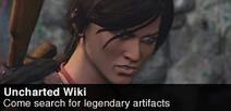 Uncharted банер Wikia