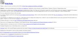 Стаття першого в світі вікіпроекта
