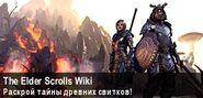 Баннер The Elder Scrolls Wiki (май-июнь 2016)