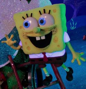 Spongebob stop motion